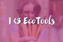 I <3 EcoTools / EcoTools® cosmetic brushes are what started it all! The iconic look of the sleek bamboo, gorgeous recycled aluminum and incredibly soft bristles are only part of what makes EcoTools, EcoTools.  Our cosmetic brushes are beautiful and show respect for the earth. They are 100% cruelty-free, have incredibly soft bristles made of synthetic taklon and have handles made of bamboo and recycled aluminum ferrules.  See what our fans say about EcoTools brushes!  / by EcoTools