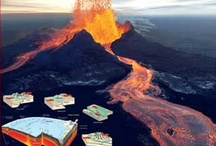 Science:  Earth / Volcanoes, earthquakes, layers of the Earth, plate tectonics,  / by Victoria Bowman