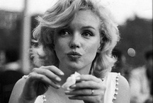 Marilyn Monroe / She was one of the most beautiful women in the world. Not all of her movies are all that good, but she herself is always worth watching.