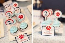 Puppy / Dog Party Ideas / This board is a great resource to look for puppy / dog themed parties.