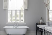 Bathroom Shutters | TNESC / Our Bathroom shutters are available in a wide range of timbers. We recommend Teak or Western Cedar if you would like a natural wood finish.