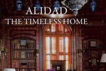 """The Timeless Home, Alidad / Interior designer Alidad has launched his book, The Timeless Home, featuring beautiful bespoke shutters designed, manufactured and installed by The New England Shutter Company.  The text on P34: """"The shutters, made by The New England Shutter Company, add the final layer of chic to the room, and every section is louvred in order to open and close at the same time, which is a feat in itself considering the complex shapes of some of the shuttered sections."""""""