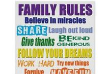 Family Rules Signs / Family rules signs you can buy or ideas to create your own