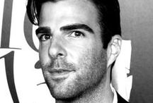 Zachary Quinto / I know, I know, but still ... swoon.