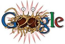 Google doodles / I love the whole concept of the Google doodle. Now I'm going to collect them all. :-)