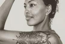 Tattoos created by Mary Kearns from 13 Moons Tattoo Studio / Tattoos custom work By Mary Kearns