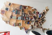 """Good Reads / My ideal library of cookbooks and """"book books""""!"""