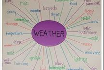 Teaching the Weather / Fun projects and activities for teaching about weather!
