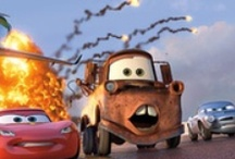 Hi I'm Mater, I'll be your waiter. haha Mater Waiter, That's funny right there :) / by Bri Kennedy