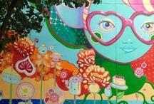 Cincinnati Murals / from downtown Cincinnati to Covington, Kentucky to the Cincinnati Parks....  Cincinnati LOVES their murals!