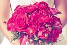 Brides Bouquet - Red
