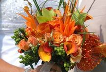 Brides Bouquet - Orange