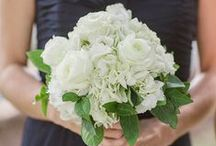 Bridesmaid Bouquet - White