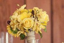Bridesmaid Bouquet - Yellow