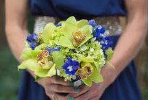 Bridesmaid Bouquet - Green