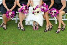 Bridesmaid Bouquet - Purple