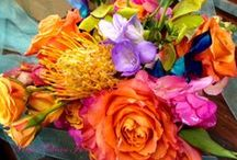 Bridesmaid Bouquet - Tropical