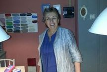 Annie Sloan / Annie Sloan de uitvinder van Chalk Paint™ van Annie Sloan. Annie Sloan verf is inmiddels te koop over de hele wereld