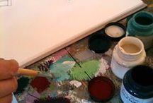 Chalk Paint ™ van Annie Sloan kleuren / Chalk Paint ™ van Annie Sloan kleuren. Alle kleuren van Annie Sloan kunt u hier vinden en bekijken / by The Shabby Shed Chalk Paint ™ van Annie Sloan