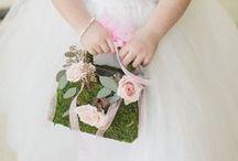 Flowergirl & Ring Bearers / Pink Pelican Weddings