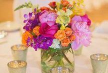 Centerpieces - Spring / Pink Pelican Weddings