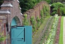 Greenhouses and walled gardens / Greenhouses especially from the Victorian era and beautiful walled gardens.