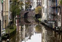 Utrecht a city in the Netherlands