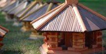 Wood Garden Deco / Products decorative wooden garden,Interesting ideas for decoration.birdfeeders.garden windmills .decor