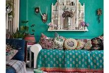 Bohemian blends / A world of  wonderful vibrant colours and patterns