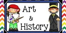Teaching Art & History {Gr.3-5} / Art, History and Social Studies teaching materials for grades 3, 4, and 5.
