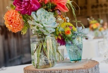 Eco Friendly Wedding Ideas / Take advantage of nature and what's around you. Think simplistic.