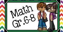 Math Gr.6-8 / Middle School Math Ideas, Plus Algebra and PreAlgebra
