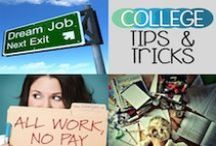 College Tips and Tricks / Tips for Preparing for College Life and How to Survive as College Student / by Teen Network
