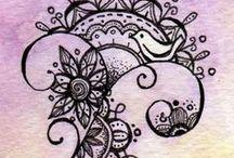 Art  - Zentangles and Doodles