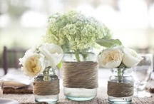 Centerpieces, ceremony and reception flowers