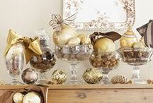 Holidays ✭ Christmas - Woodland Themed / I love to change up my Christmas decor almost every year. This year - woodland!