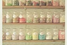Decor ✭ Classy Soda Shoppe / Cute, bright, filled with pinks, yellows and blues. This is how I envision my dream bar, a soda shoppe!