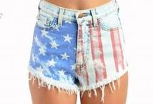 #AMERICA / For the Ustrendy girls who LOVE AMERICA / by UsTrendy.com