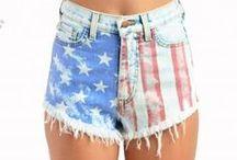 #AMERICA / For the Ustrendy girls who LOVE AMERICA