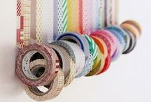 DIY/Craft ✭ Washi Tape Wonders / Its sticky, its pretty and its ALL OVER THE PLACE! Check out these great ideas for Washi Tape!