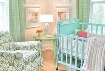Decor ✭ Baby's Rooms / Nurseries are all the rage with us pregnant ladies. ;D Time to get inspired!!