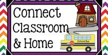 School-Home Connection / Ideas to get parents engaged in their child's school experience