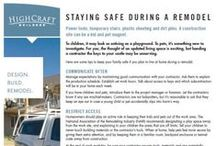 HighCraft Remodeling Tips / Homeowner tip sheets that answer the most common questions about remodeling.