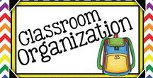 Classroom Organization {Gr.3-5} / Classroom Organization Ideas & Materials to Classroom Neat and Tidy!