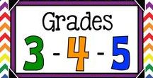 Teaching Gr.3-5 / Great Teaching Resources for Grades 3-5. Great ideas for teaching blended and split classes.