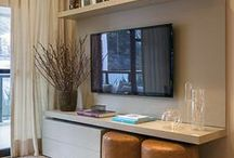 TV Storage Ideas / TV unit ideas & DIY inspiration for living rooms, kitchens and bedrooms / by Housing Units