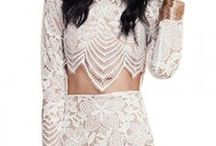 Lace Dresses / For the Ustrendy girls who love lace