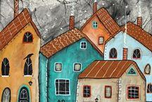 art: buildings