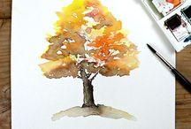 art: trees&leaves
