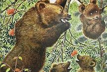 Kuvitetut eläimet / Great, cute illustrations of animals